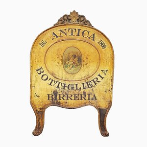 Antikes Weinschild