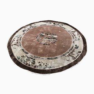 Chinesischer Teppich aus Seide, 1980er