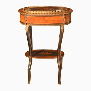 French Rosewood Side Table, 1880s