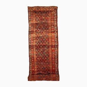 Tappeto da corridoio fatto a mano, Kurdistan, fine XIX secolo