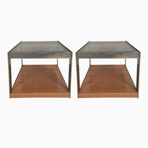 Tables d'Appoint en Chêne par Richard Young pour Merrow Associates, 1970s, Set de 2
