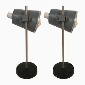 Lampes de Laboratoire Vintage, Set de 2