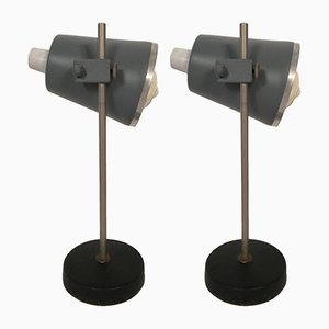 Vintage Laboratory Lamps, Set of 2