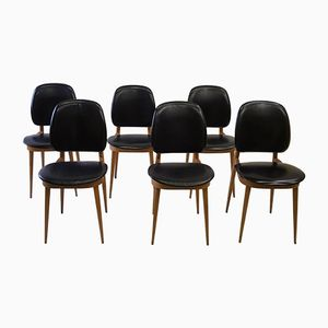 Chairs by Pierre Guariche, 1950s, Set of 6