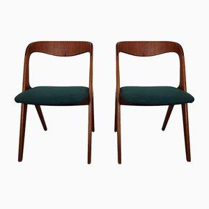 Dänische Esszimmerstühle aus Teak von Vamo, 2er Set