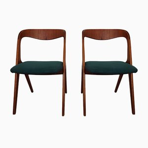 Danish Teak Dining Chairs from Vamø, 1960s, Set of 2