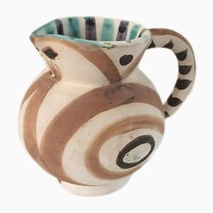 Little Wood Owl Pitcher by Pablo Picasso for Madoura, 1940s