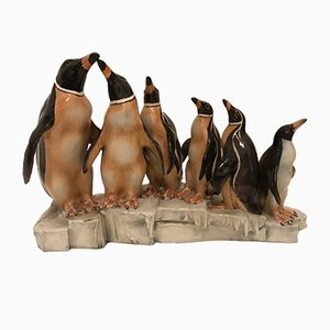 Vintage Ceramic Penguins by Cacciapuoti