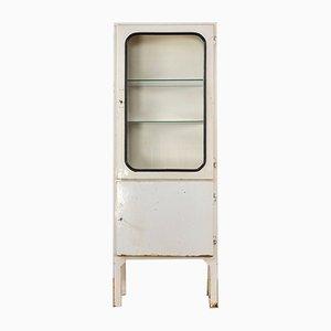 Vintage Arzneischrank aus Stahl & Glas, 1970er