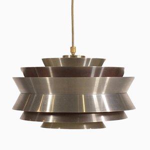 Lámpara colgante de aluminio de Carl Thore para Granhaga, años 60