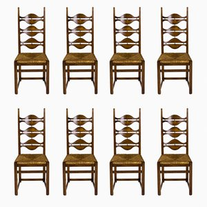 Dining Chairs by Jordi Vilanova, 1950s, Set of 8