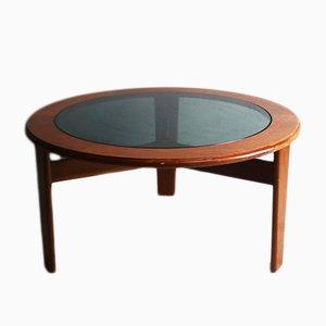 Tavolino da caffè rotondo di G-Plan, anni '70