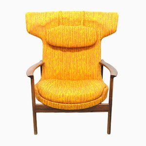 Vintage Wing Chair by Ib Kofod Larsen