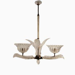 Lampada vintage in vetro di Murano di Barovier & Toso