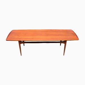 Table Basse FD503 en Teck par Tove & Edvard Kindt-Larsen pour France & Daverkosen, 1950s