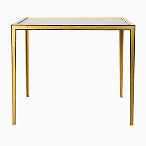 Tavolino da caffè in ottone dorato di Vereinigte Werkstatten, anni '60