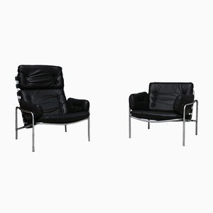 Osaka Lounge Chairs by Martin Visser for 't Spectrum, 1970s, Set of 2