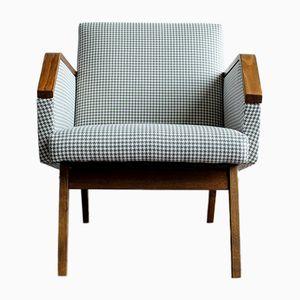 Vintage Czech Armchair, 1960s