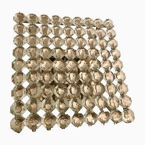 Applique Mid-Century in cristallo