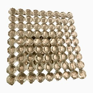Mid-Century Deckenlampe aus Kristallglas