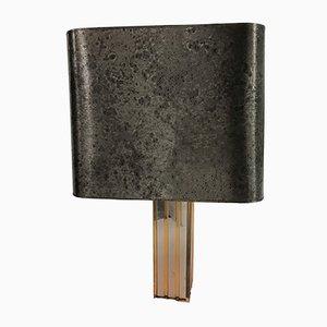 Lámpara de mesa grande de Gaetano Sciolari, años 70