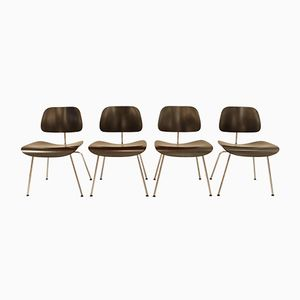DCM Dining Chairs by Charles & Ray Eames for Vitra, 1980s, Set of 4