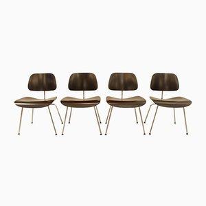 DCM Esszimmerstühle von Charles & Ray Eames für Vitra, 1980er, 4er Set