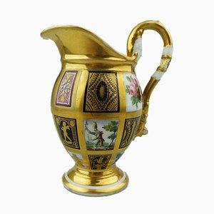 Brocca antica di Old Paris Porcelain, inizio XIX secolo