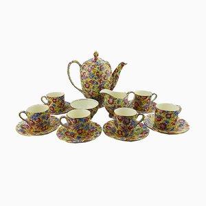 Britisches Kaffeeservice aus Keramik von Royal Winton, 1930er