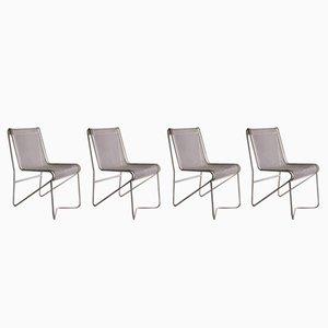 Tit Mellil Chair von Mathieu Matégot, 1950er, 4er Set