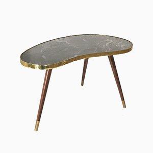 German Kidney Shaped Table, 1950s