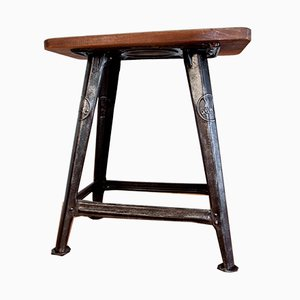 4-Legged Stool by Robert Wagner for Rowac, ​​1920s