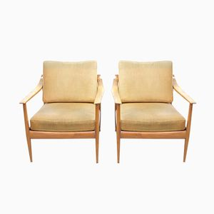 Mid-Century Armchairs from Wilhelm Knoll, Set of 2