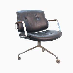 Chaise de Bureau Vintage FK84 par Preben Fabricius & Jørgen Kastholm pour Kill International
