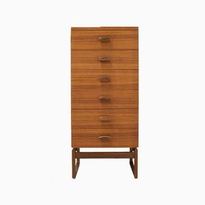Teak and Rosewood Chest of Drawers by Roger Bennet for G-Plan, 1960s
