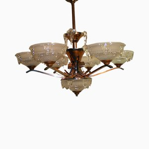 Chandelier from Ezan, 1940s