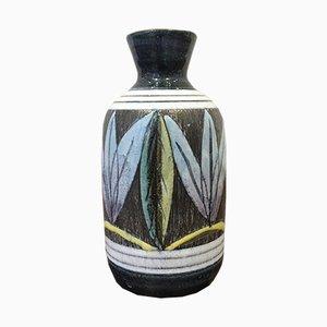 Jarrón sueco de cerámica de Alingsås Ceramic, años 60
