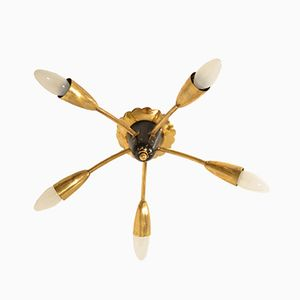 Kleine Mid-Century Sputnik Decken- oder Wandlampe, 1960er