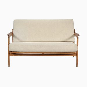 FD 117/2 Sofa by Tove & Edvard Kindt-Larsen for France & Daverkosen, 1960s