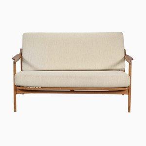 FD 117/2 Sofa von Tove & Edvard Kindt-Larsen für France & Daverkosen, 1960er