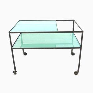 Serving Bar Cart by Herbert Hirche for Christian Holzäpfel KG, 1960s