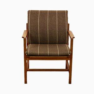 Dänische 3233 Armlehnstühle aus Eiche von Børge Mogensen für Fredericia, 1960er