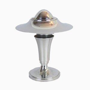 Lampada da tavolo Art Deco cromata