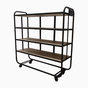 Mid-Century Factory Shelving