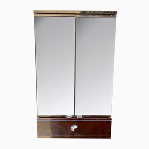 Medical Metal Cabinet with Mirror from Metalkris, 1990s