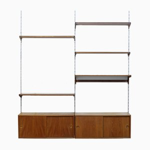 Teak Wall Unit by Kai Kristiansen for FM Furniture, 1960s