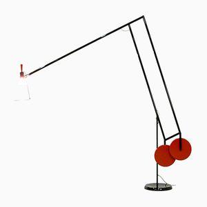 Lampada da terra Ipogeo di Joe Wentworth per Artemide, inizio XXI secolo