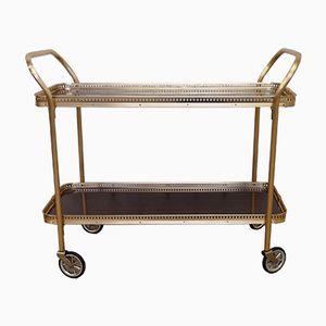 Golden Serving Cart, 1960s