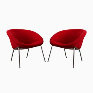 Vintage Lounge Chairs Model 369 by Walter Knoll, Set of 2