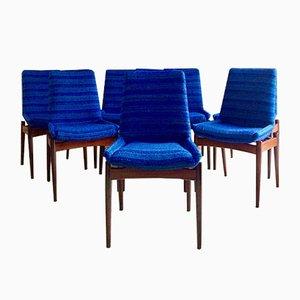 Hamilton Esszimmerstühle von Robert Heritage für Archie Shine, 1960er, 8er Set